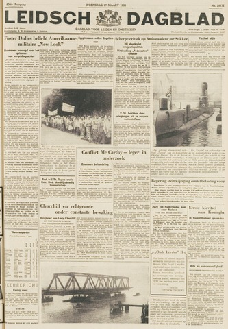 Leidsch Dagblad 1954-03-17