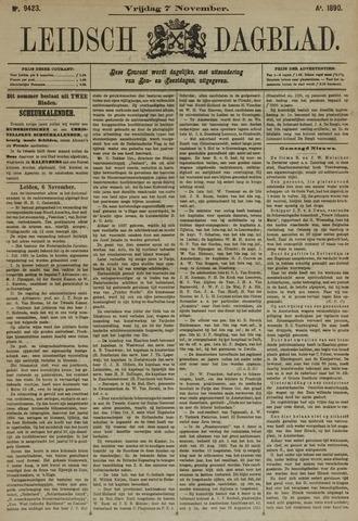Leidsch Dagblad 1890-11-07