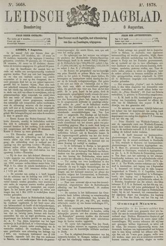 Leidsch Dagblad 1878-08-08