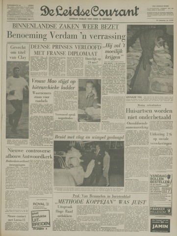 Leidse Courant 1966-09-03