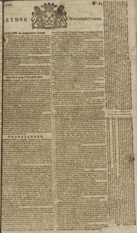 Leydse Courant 1771-08-07