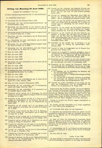 Handelingen van de Raad 1920-06-21