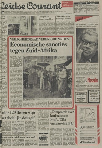 Leidse Courant 1985-07-27