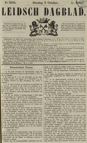 Leidsch Dagblad 1866-10-02