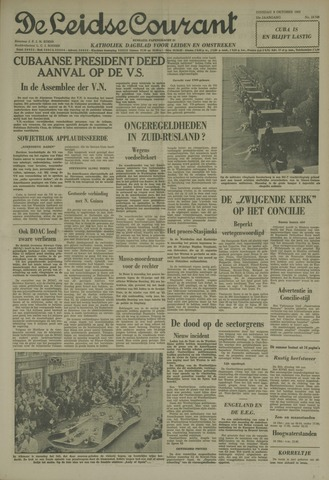 Leidse Courant 1962-10-09
