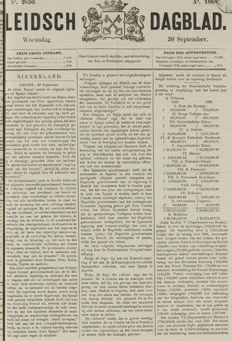 Leidsch Dagblad 1868-09-30