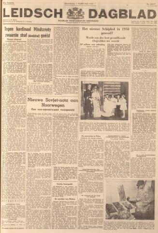 Leidsch Dagblad 1949-02-07