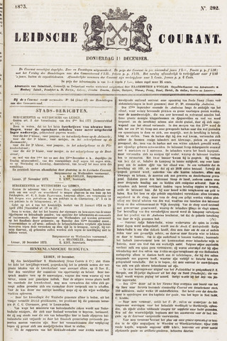 Leydse Courant 1873-12-11