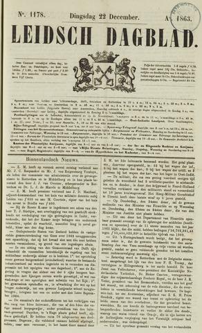 Leidsch Dagblad 1863-12-22