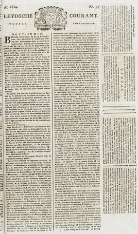 Leydse Courant 1824-08-06