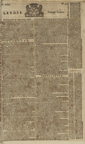 Leydse Courant 1754-05-03