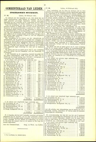 Handelingen van de Raad 1934-02-16