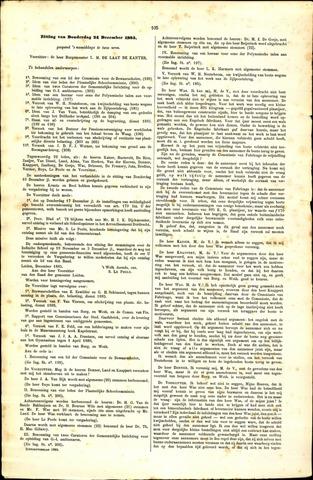 Handelingen van de Raad 1885-12-24