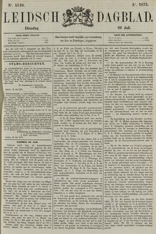 Leidsch Dagblad 1873-07-29