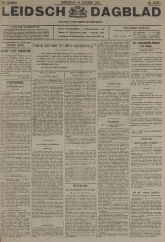 Leidsch Dagblad 1935-10-24