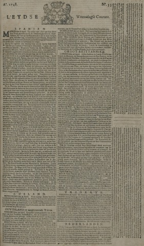 Leydse Courant 1748-05-01