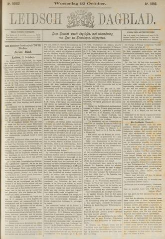 Leidsch Dagblad 1892-10-12