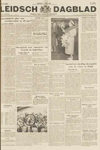 Leidsch Dagblad 1954-06-01