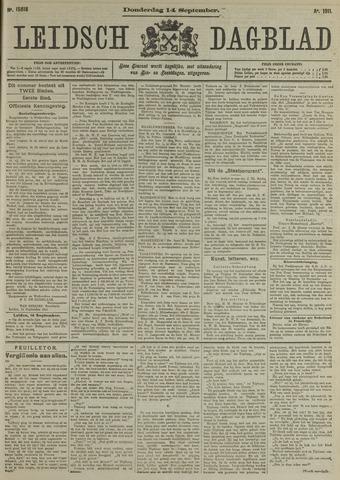 Leidsch Dagblad 1911-09-14