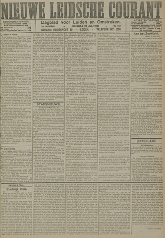 Nieuwe Leidsche Courant 1921-07-26
