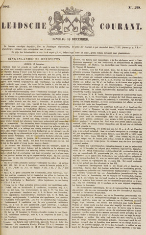 Leydse Courant 1883-12-18