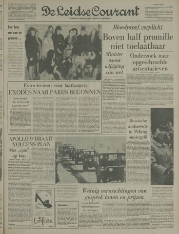 Leidse Courant 1969-03-04