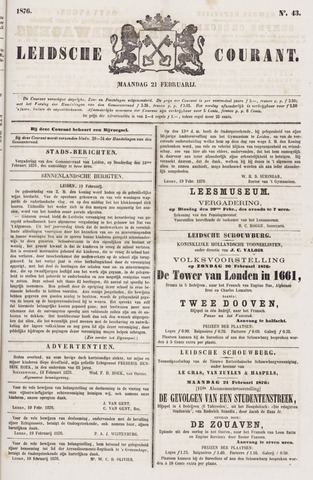 Leydse Courant 1876-02-21