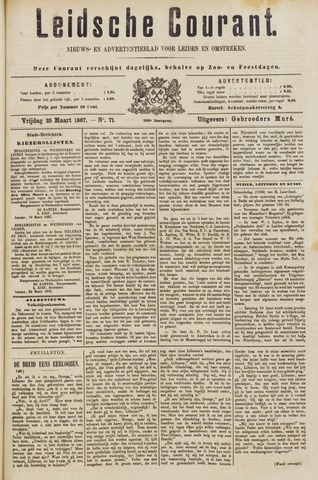 Leydse Courant 1887-03-25