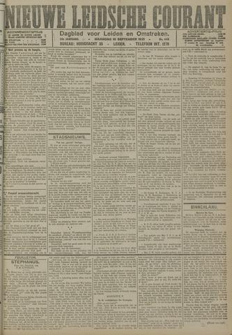 Nieuwe Leidsche Courant 1921-09-19