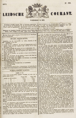 Leydse Courant 1873-05-14