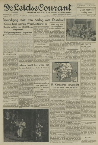 Leidse Courant 1950-09-20