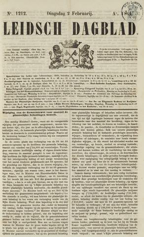 Leidsch Dagblad 1864-02-02