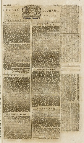 Leydse Courant 1819-07-09