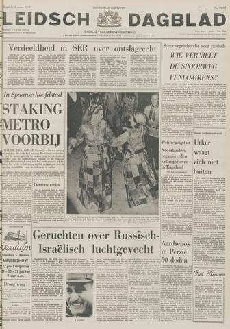 Leidsch Dagblad 1970-07-30