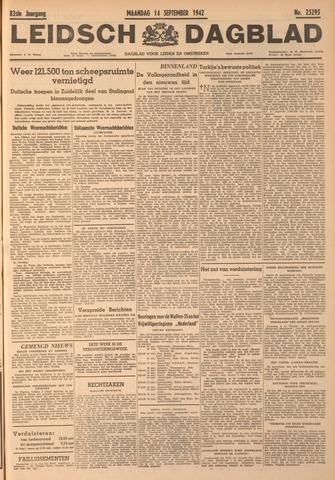 Leidsch Dagblad 1942-09-14