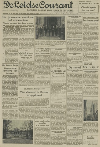 Leidse Courant 1950-04-25