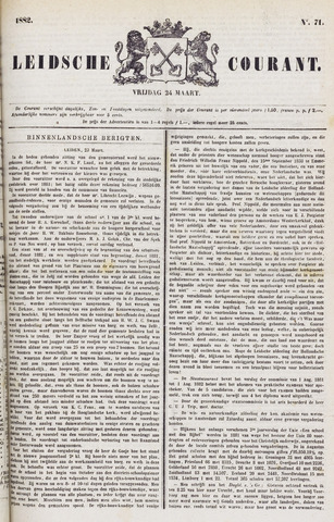 Leydse Courant 1882-03-24