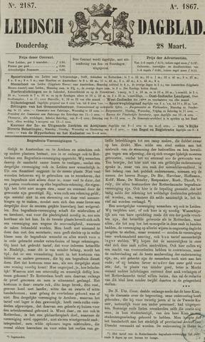 Leidsch Dagblad 1867-03-28