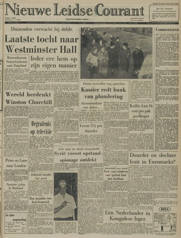 Nieuwe Leidsche Courant 1965-01-26