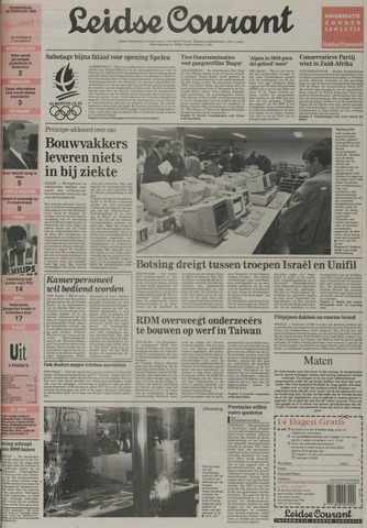 Leidse Courant 1992-02-20