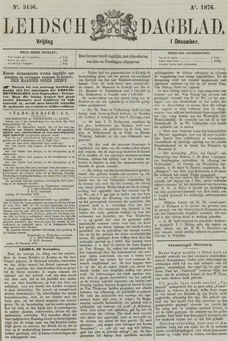 Leidsch Dagblad 1876-12-01