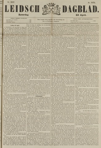 Leidsch Dagblad 1870-04-23