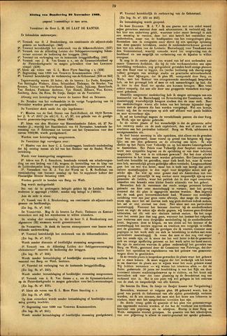 Handelingen van de Raad 1889-11-28