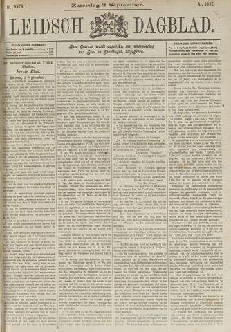 Leidsch Dagblad 1892-09-03