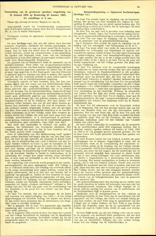 Handelingen van de Raad 1935-01-24