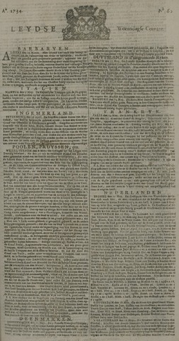 Leydse Courant 1734-05-19