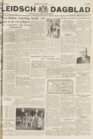 Leidsch Dagblad 1954-07-27