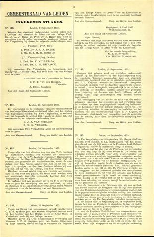 Handelingen van de Raad 1935-09-09