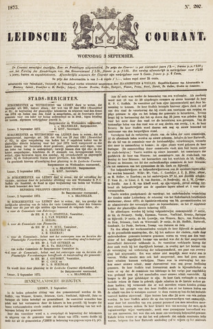 Leydse Courant 1873-09-03