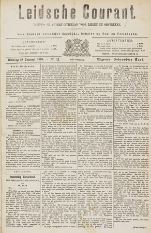 Leydse Courant 1889-01-15